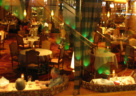 A Picture Taken Of A Dining Room At South Point Casino