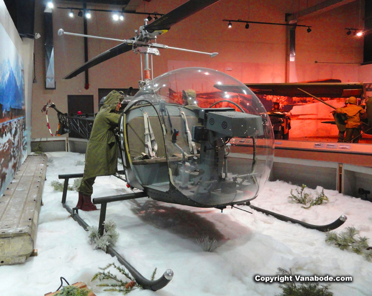 army helicopter used in war