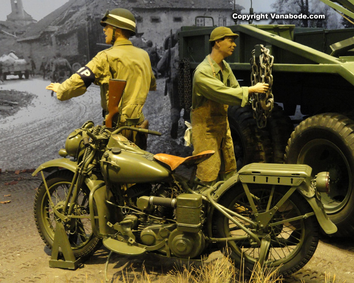 army motorcycle authentic