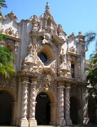 balboa park buildings in california are incredible
