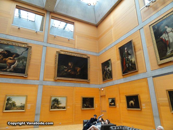 British Art Gallery New Haven Above The British Art Gallery