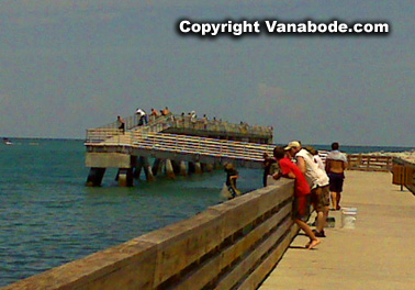 cape canaveral jetty and fishing picture