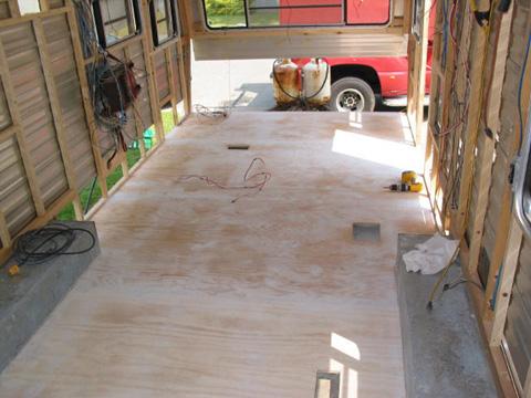 rebuild travel trailer