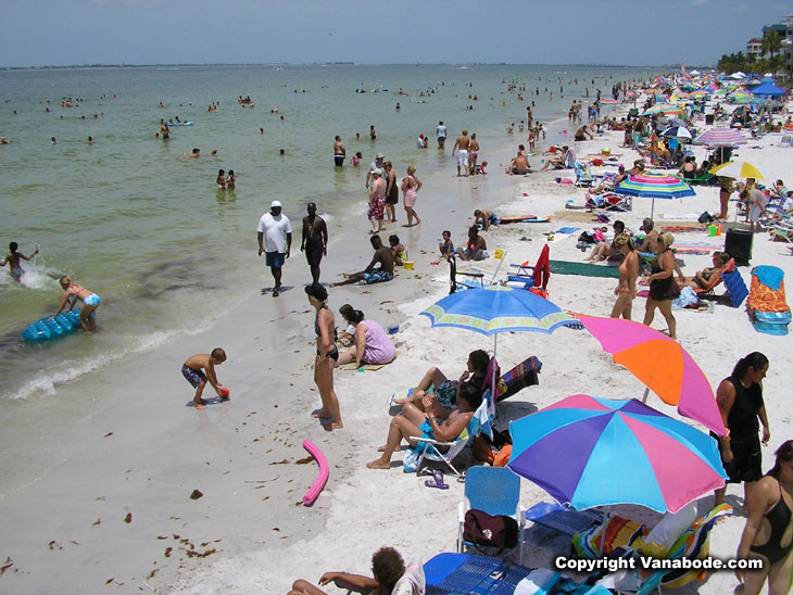 fort myers fourth of july beach picture