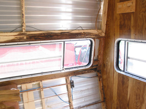 Travel Trailer Water Damage Continued