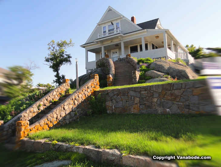 gloucester massachusetts house on hill beachfront