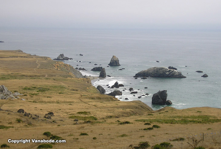 goat rock state park in california picture