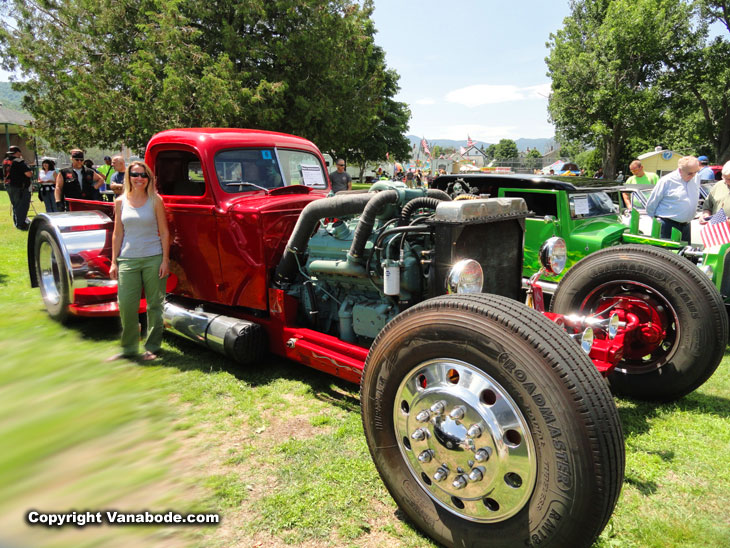 gorham car show NH
