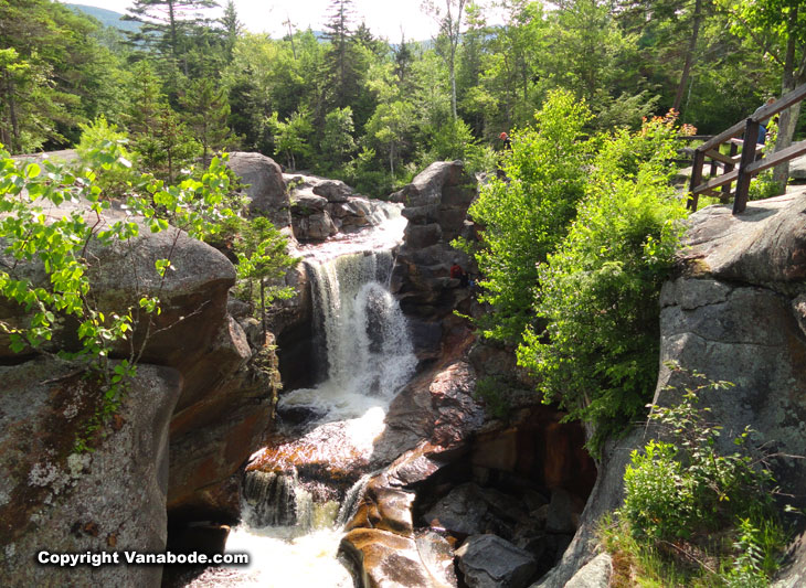 waterfalls in maine