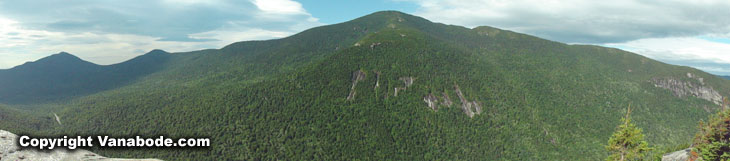 views of mountains in maine state park called grafton notch