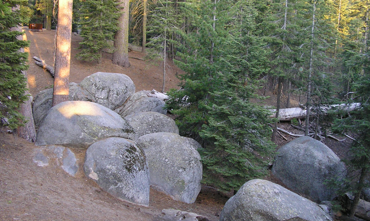 kings canyon azalea campground picture