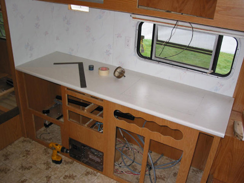 Kitchen Countertop For New Rv Corian Sinks And