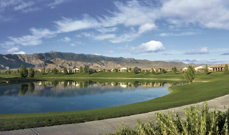 Mountain Falls Pahrump Nevada golf course picture