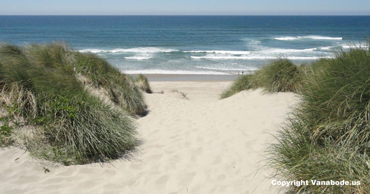 florence oregon dunes beach picture
