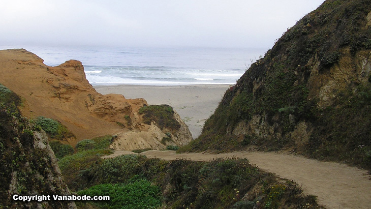 picture of mcclures beach at point reyes national park