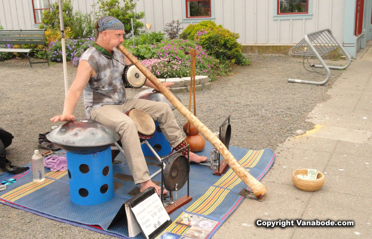 local musician in port townsend picture