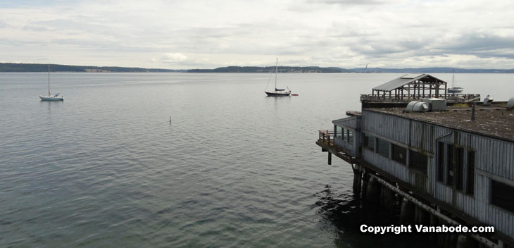 view from port townsend restaurant picture
