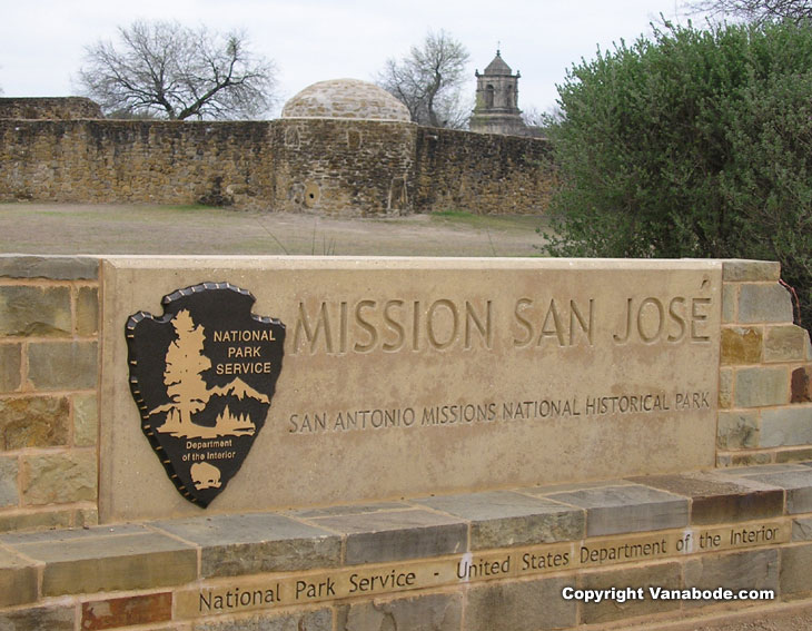 picture of mission san jose in san antonio texas