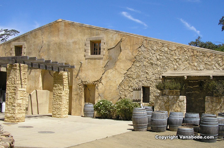 California winery in Santa Ynez picture