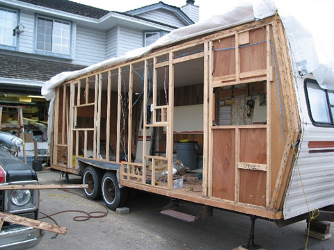 Simple Camper Trailer Restoration  Typical Retro Restoration Rebuild Take