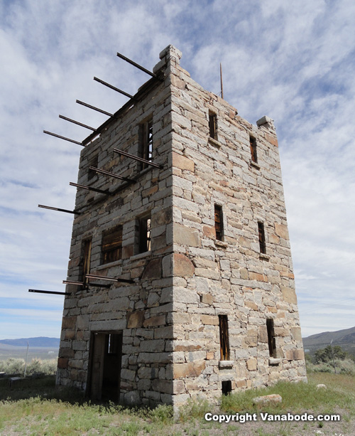 sotkes castle in austin nevada  picture
