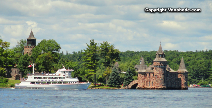 1000 islands castle, bridge, gardens and estates
