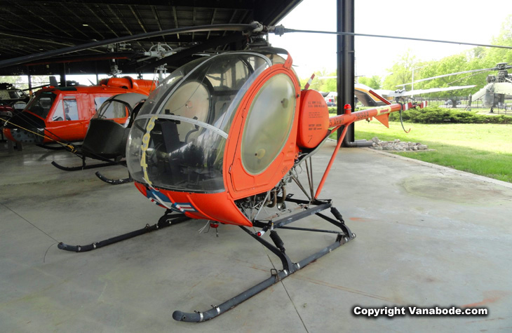 Army Transportation Museum helicopter
